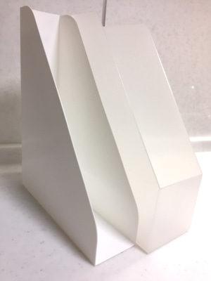 セリア A4ファイルスタンド サナダ精工 FILE STAND ファイルボックス 100均