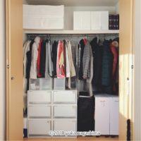 寝室の大型クローゼット 使いやすい収納のコツ