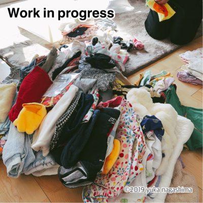 横浜市都筑区 出張お片付けサポート 子供服の整理整頓 ビフォーアフター