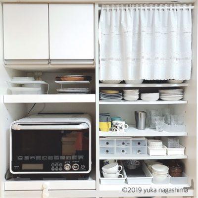 【わが家の収納】食器棚オープン収納、見直しました!