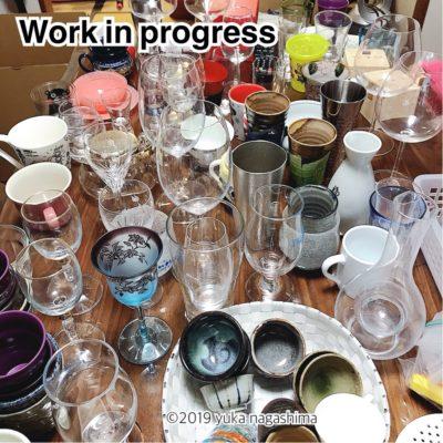 お酒好きさんのグラス・酒器のお片づけ 横浜市神奈川区 整理収納アドバイザー