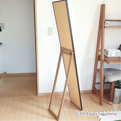 アイワ金属「スノピタ」を使って鏡を壁付けにしてみた