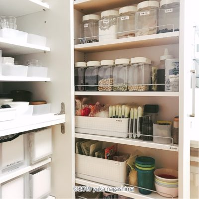 【わが家の収納】スペースから決める適正量!乾物とレトルト食品の収納