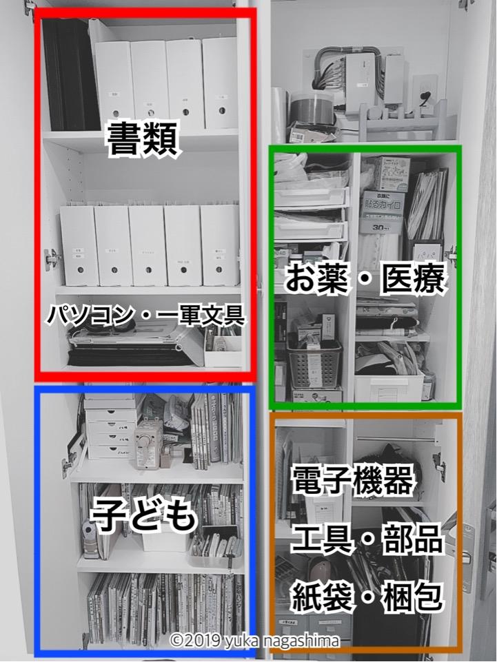 バーチカルファイリングでの書類整理サポート事例 横浜市神奈川区 整理収納アドバイザー長島ゆか