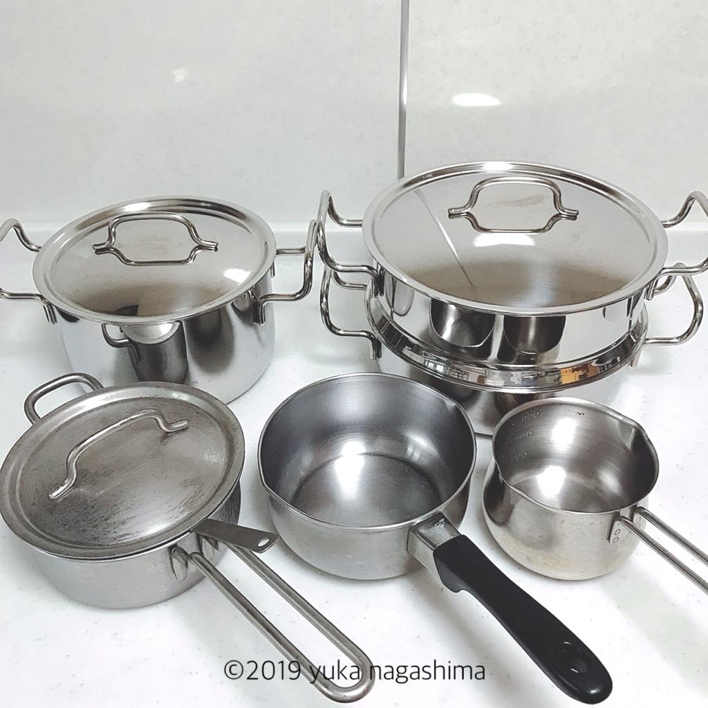 【愛用品】ジオプロダクトとステンレス鍋