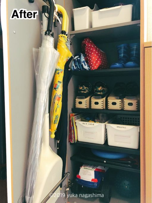 【わが家の収納】靴の整理と、くつホルダーを使った下駄箱の収納