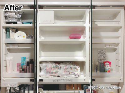 横浜市神奈川区 出張お片付けサポート事例 洗面所収納