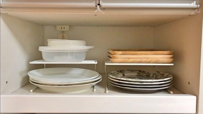 【2020年】無印アイテム多めの食器棚収納