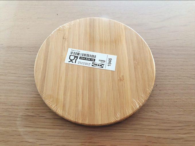 IKEA新商品2020年8月 SNABBMAT スナッブマート コースター 竹