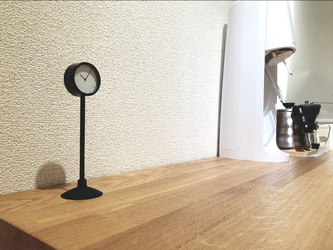 IKEA新商品2020年8月 STAKIGスタキグ 時計 ブラック
