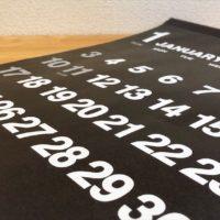 【ダイソー購入品】2021年モノトーンカレンダー