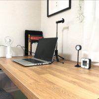 【主人部屋】在宅でのリモートワーク対策!IKEAの天板で広々快適なPCデスクが完成|IKEA SÄLJAN セールヤン ワークトップ オーク調