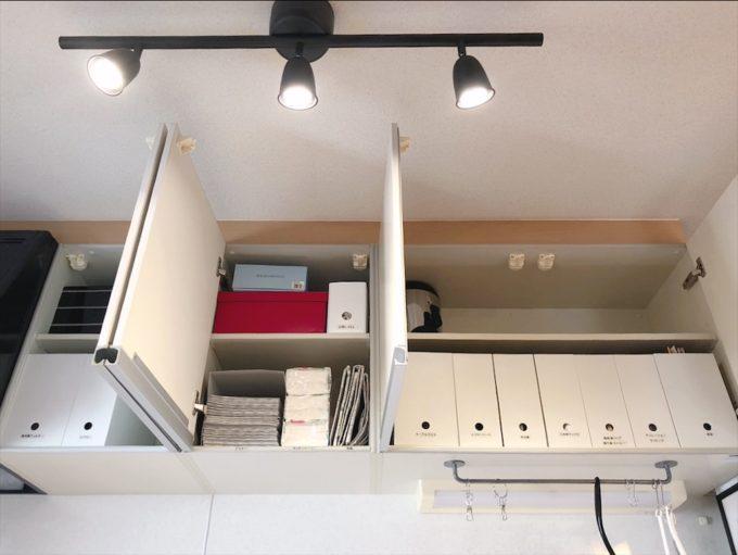 背が低い人の吊戸棚収納(我が家のキッチン収納)