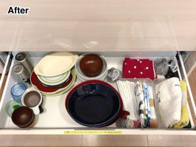 片付けビフォーアフター キッチン収納