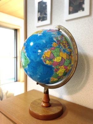 コレならダサくない!地球儀買いました |帝国書院/N26-5(行政図)